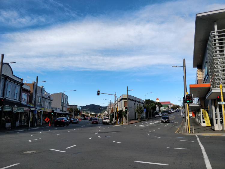 Adelaide Street & Riddiford Street Overview1